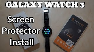 Galaxy Watch 3 Screen Protector Install and Unboxing (DIY)