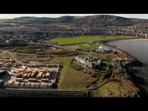 Burntisland Seafront  - DJI Phantom P4
