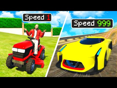 SCHNELLSTE vs LANGSAMSTE AUTO in GTA 5 RP!