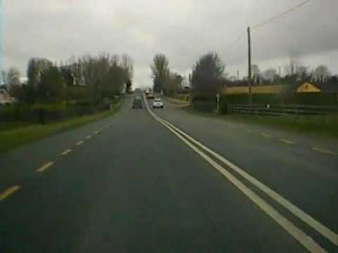 Road trip from Castledermot Co. Kildare to Kilkenny City