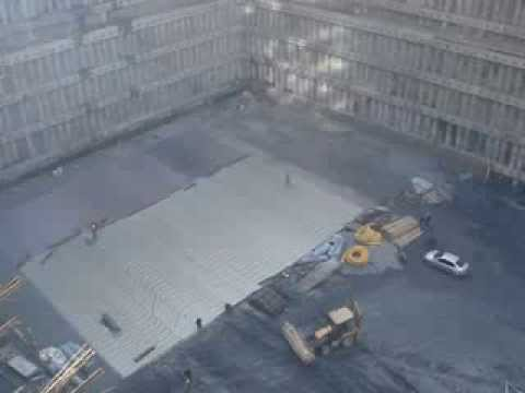 OC-Plan ECB Geomembran Uygulamaları - TRUMP Tower İstanbul