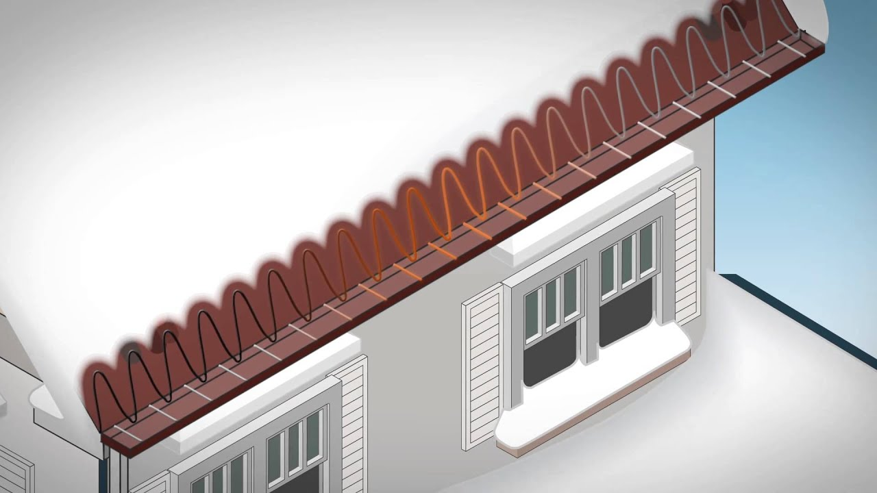 Rain Gutter Heater Cables : Cable roof heating cables minneapolis gutter heat