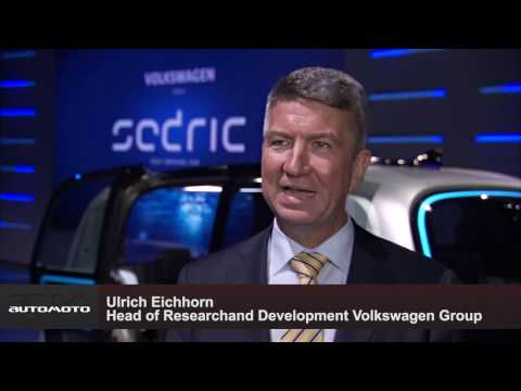 Geneva International Motor Show 2017 - Volkswagen Group vehicle SEDRIC Ulrich Eichhorn | AutoMotoTV