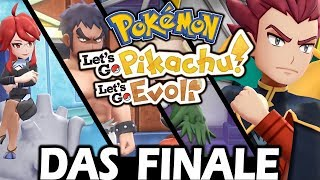Das FINALE der STORY 😍 Let's Go Pikachu & Pokémon Let's Go Evoli