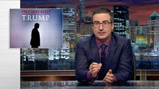 President-Elect Trump: Last Week Tonight with John Oliver (HBO)(Donald Trump will be the next president of the United States. How did we get to this point? And what do we do now? Connect with Last Week Tonight online., 2016-11-14T04:30:01.000Z)