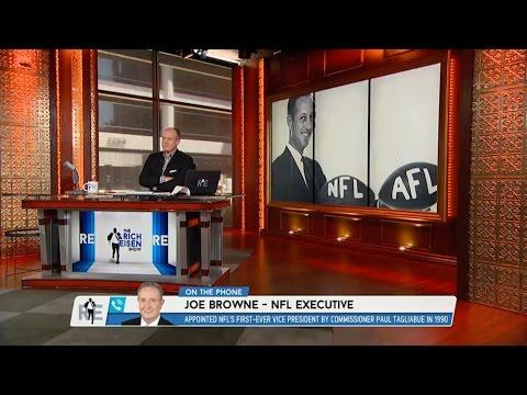 NFL Executive Joe Browne Talks 49 Year Anniversary of NFL & AFL Merger - 6/8/15