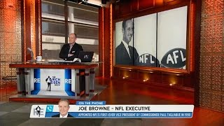 NFL Executive Joe Browne Talks 49 Year Anniversary of NFL & AFL Merger - 6/8/15