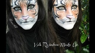 Tiger make up - Face painting Thumbnail