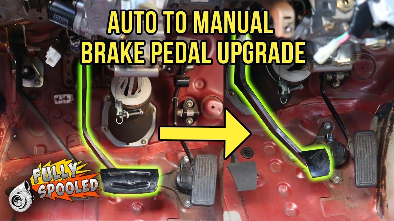 lexus sc300 drift build ep 30 oem auto to manual brake pedal swap rh youtube com 2Jz Swap 2Jz Swap