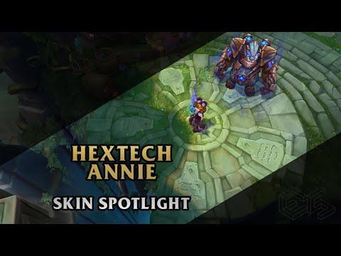 ► Hextech Annie ◀ League of Legends ▂ Skin Spotlight