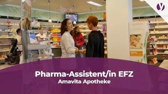 Eine Lehre als Pharma-Assistentin EFZ bei der Amavita Apotheke