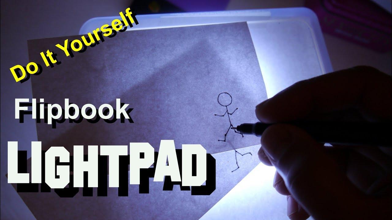 Flipbook lightpad diy hacks youtube flipbook lightpad diy hacks solutioingenieria Image collections
