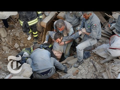 Powerful Earthquake Strikes Central Italy | The New York Times