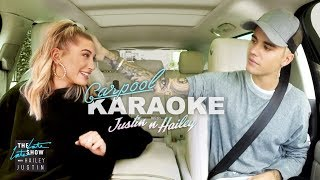 Justin Bieber and Hailey Baldwin Carpool Karaoke