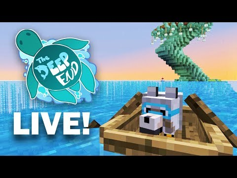 Enchanting + Wolf Hoarding!  | Minecraft Deep End SMP - LIVE NOW