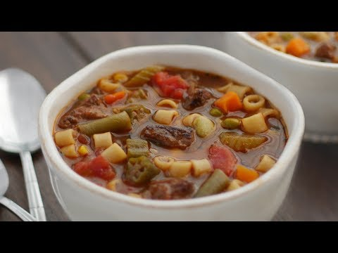 Easy Beef Soup Recipe