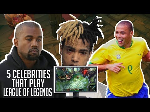 5 Celebrities That Actually Play League of Legends