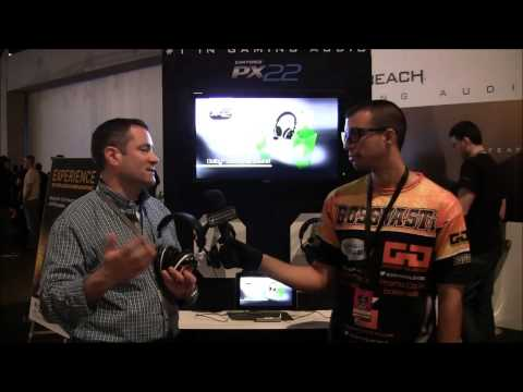 MLG Dallas 2013 | Turtle Beach Booth W/ Michael Arzt, VP Of Markerting & Partnerships