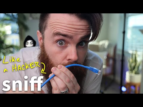 how Hackers SNiFF (capture) network traffic // MiTM attack