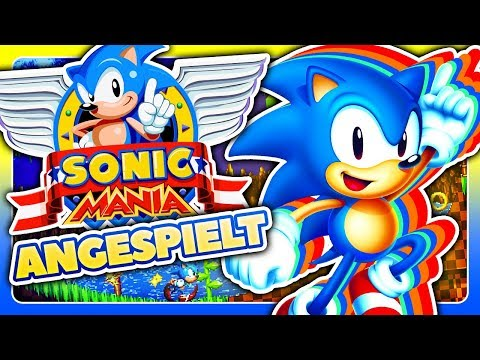 Sonic Mania 💨 Angespielt [Deutsches Playstation 4 Pro Gameplay / Let's Play]