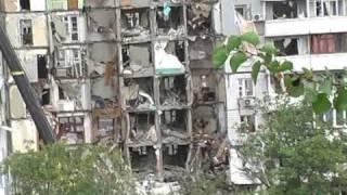 Взрыв газа в Днепропетровске 2007год