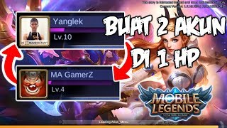 Cara Buat 2 Akun Mobile Legends Dalam 1 HP - Mobile Legends Indonesia #4