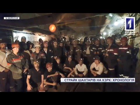 Новости Кривого Рога. Первый Городской телеканал: У Кривому Розі третій тиждень тривають страйки шахтарів