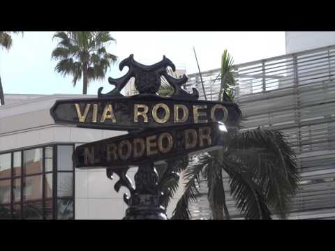 VISIT TO RODEO DRIVE 4K,  LOS ANGELES VISIT 2016