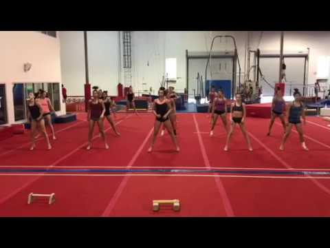 gymcats leg workout dance  youtube