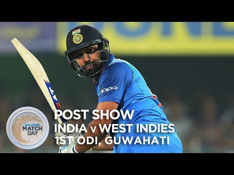 India v West Indies - LIVE STREAM, 1st ODI - post-match show