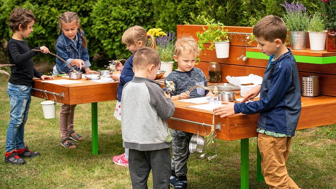 Eko Kuchnia Kreatywna Kuchnia Błotna Dla Dzieci