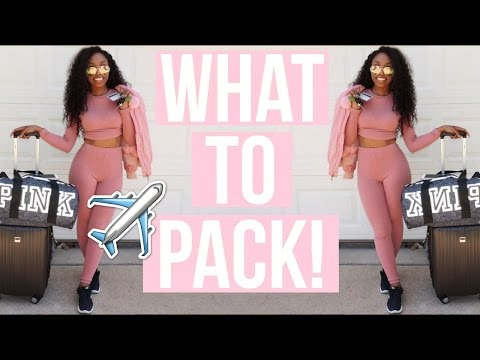 What to Pack for SUMMER Vacation! Tips + Tricks to Pack Like a Pro and NEVER Check Your Luggage!