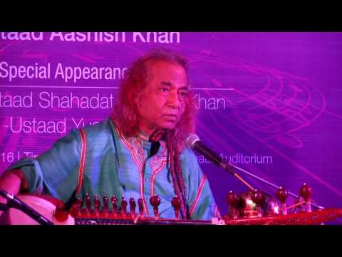 Ustad Aashish Khan Exclusive Speech About Sarod &  Maihar Gharana