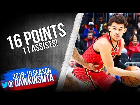 Trae Young Full Highlights 2019 02 14 Knicks vs Hawks   22 Pts 9 Rebs 4 Asts! FreeDawkins