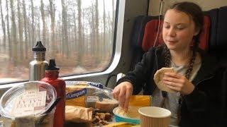NACH DAVOS IN 65 STUNDEN: Klimaaktivistin Greta Thunberg reist mit dem Zug an
