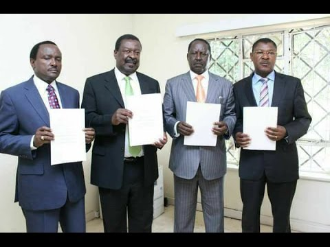 NASA leaders sign coalition agreement