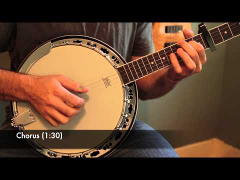 """Mumford and Sons """"Roll Away Your Stone"""" Banjo Lesson (With Tab)"""