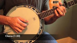 "Mumford and Sons ""Roll Away Your Stone"" Banjo Lesson (With Tab)"