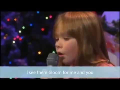 Connie Talbot - Wonderful World [Karaoke/Instrumental]