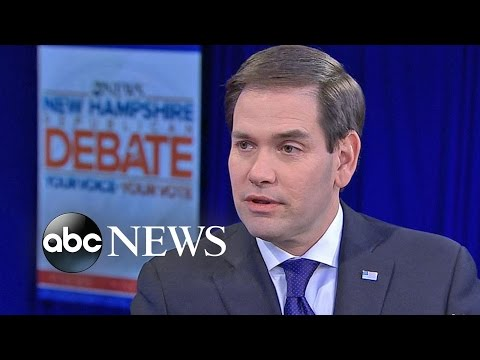 Rubio Defends Repeated Attack on Obama: 'I'm Going to Keep Saying It'