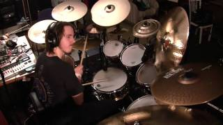 Iron Maiden  - Holy Smoke drum cover
