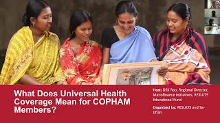 What Does Universal Health Coverage Mean for COPHAM Members?