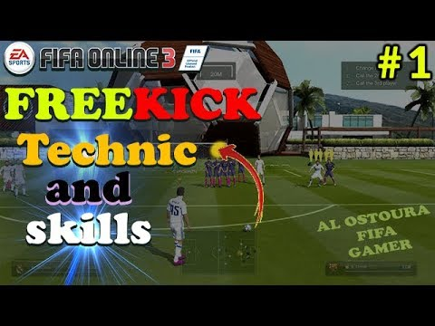 HOW TO SHOOT FREE KICK IN FIFA ONLINE 3 - FO3 TUTORIAL (Technic - Tricks - skills )..⚽⚽😉 !!