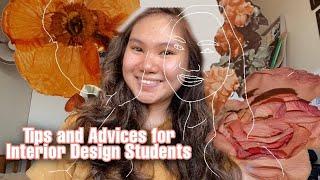 TIPS & ADVICES for Aspiring Interior Design Students! | Edraline Pingol