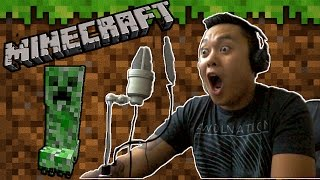 MY FIRST TIME PLAYING MINECRAFT!
