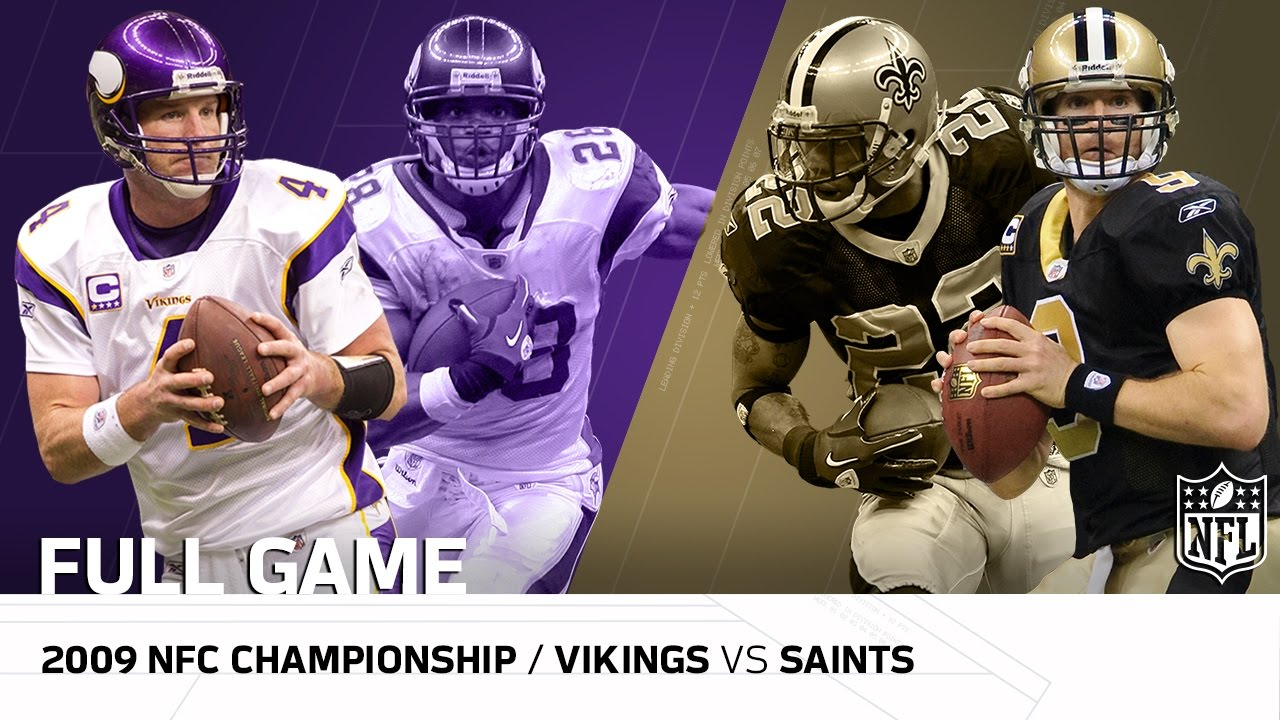 Saints and Vikings are tied early in first-round playoff matchup