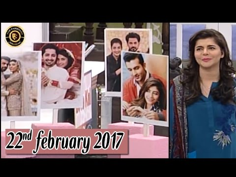 Good Morning Pakistan - 22nd February 2017 - Top Pakistani show