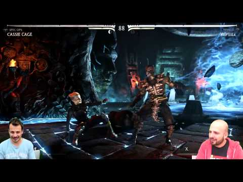 Let's Play Mortal Kombat X: Παπαπαύλου Vs Καρέτσος