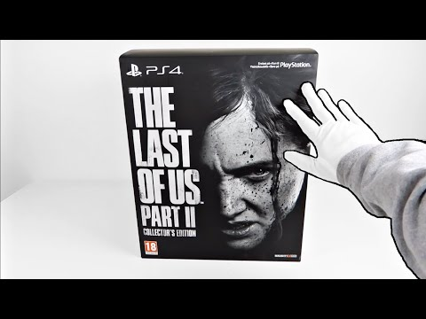 The Last Of Us Part 2 COLLECTOR'S EDITION Unboxing