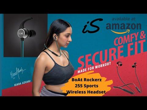 BoAt Rockerz 255 Sports Wireless Headset With Super Extra Bass #boAt #amazon #rockerz255 #headset